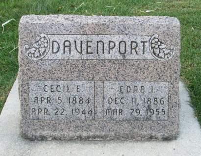 DAVENPORT, CECIL E. - Franklin County, Iowa | CECIL E. DAVENPORT