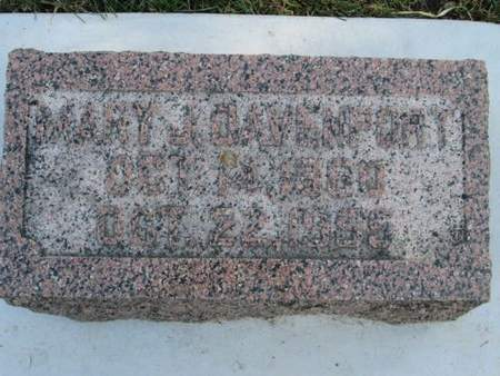 DAVENPORT, MARY J. - Franklin County, Iowa | MARY J. DAVENPORT