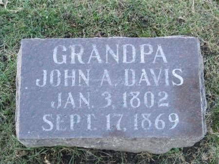 DAVIS, JOHN A. - Franklin County, Iowa | JOHN A. DAVIS