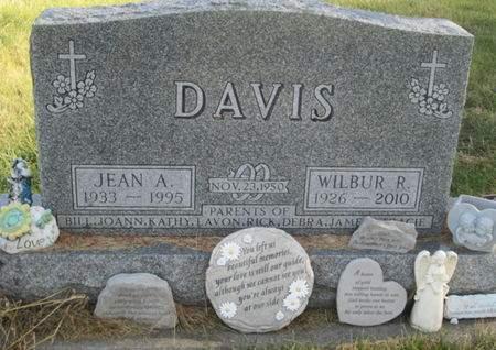 DAVIS, JEAN A. - Franklin County, Iowa | JEAN A. DAVIS