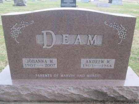 DEAM, ANDREW W. - Franklin County, Iowa | ANDREW W. DEAM