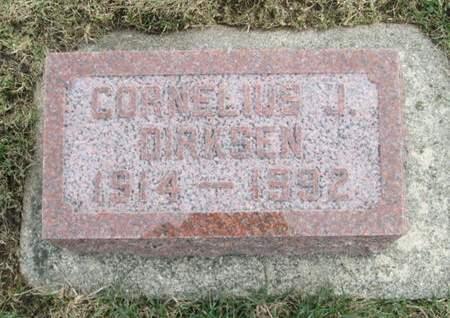 DIRKSEN, CORNELIOUS J. - Franklin County, Iowa | CORNELIOUS J. DIRKSEN