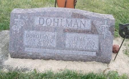 DOHLMAN, DOROTHY M. - Franklin County, Iowa   DOROTHY M. DOHLMAN