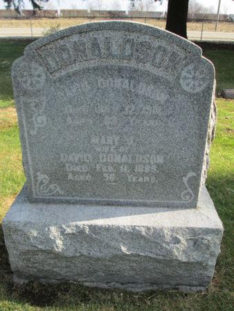 DONALDSON, MARY J. - Franklin County, Iowa   MARY J. DONALDSON