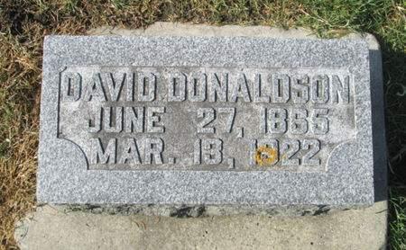 DONALDSON, DAVID - Franklin County, Iowa   DAVID DONALDSON
