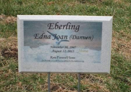 DANNEN EBERLING, EDNA JOAN - Franklin County, Iowa | EDNA JOAN DANNEN EBERLING