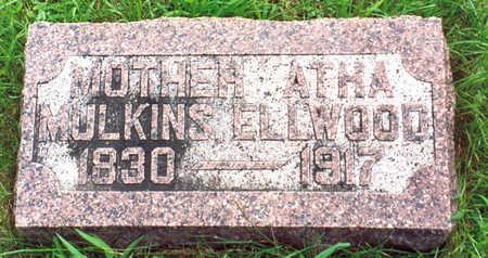 JONES ELWOOD, ATHA - Franklin County, Iowa   ATHA JONES ELWOOD