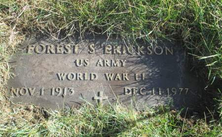 ERICKSON, FOREST S. - Franklin County, Iowa | FOREST S. ERICKSON