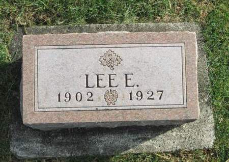 ESSLINGER, LEE E. - Franklin County, Iowa | LEE E. ESSLINGER
