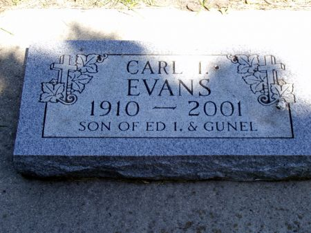 EVANS, CARL I - Franklin County, Iowa | CARL I EVANS