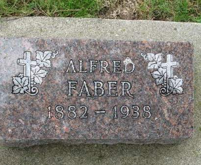 FABER, ALFRED - Franklin County, Iowa | ALFRED FABER