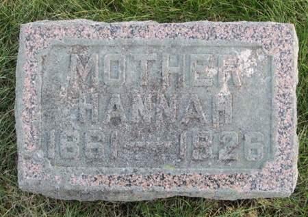 FANSELOW, HANNAH - Franklin County, Iowa | HANNAH FANSELOW