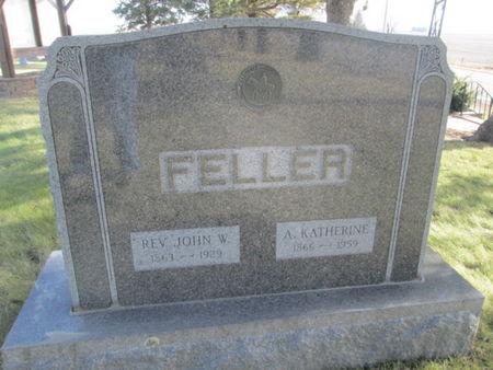 FELLER, REV. JOHN W. - Franklin County, Iowa   REV. JOHN W. FELLER
