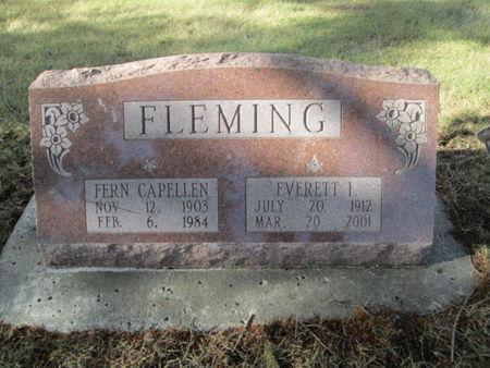FLEMING, EVERETT I. - Franklin County, Iowa | EVERETT I. FLEMING