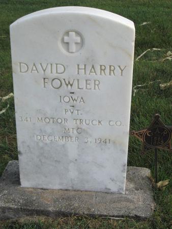 FOWLER, DAVID HARRY - Franklin County, Iowa | DAVID HARRY FOWLER