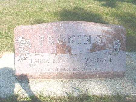 FRONING, WARREN - Franklin County, Iowa | WARREN FRONING