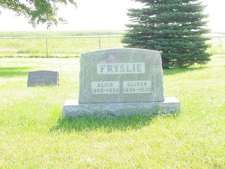 HANSON FRYSLIE, ALICE - Franklin County, Iowa | ALICE HANSON FRYSLIE