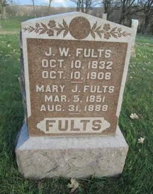 FULTS, MARY J. - Franklin County, Iowa | MARY J. FULTS