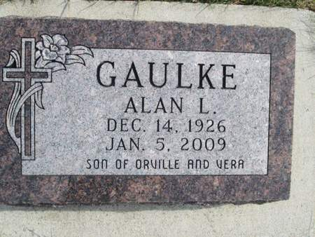 GAULKE, ALAN L. - Franklin County, Iowa | ALAN L. GAULKE