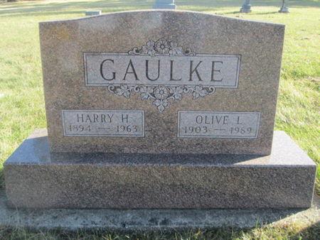 GAULKE, OLIVE L. - Franklin County, Iowa | OLIVE L. GAULKE