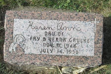 GAULKE, KAREN ANN - Franklin County, Iowa | KAREN ANN GAULKE