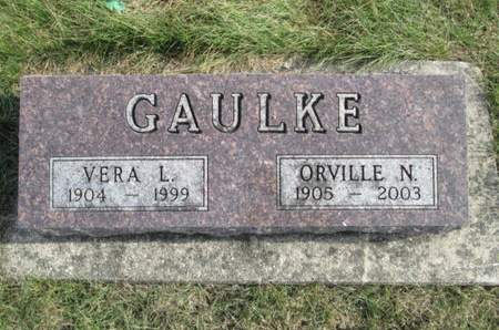 GAULKE, VERA L. - Franklin County, Iowa | VERA L. GAULKE