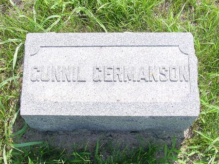ERLENDSDATTER GERMANSON, GUNNIL - Franklin County, Iowa | GUNNIL ERLENDSDATTER GERMANSON