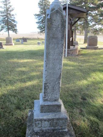 GLADE, ANNIE - Franklin County, Iowa   ANNIE GLADE