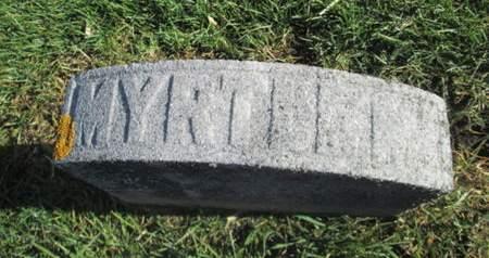 GRESSLER, MYRTLE M. - Franklin County, Iowa   MYRTLE M. GRESSLER