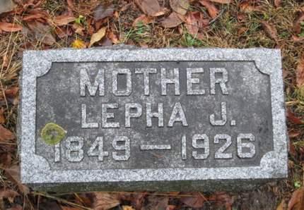 GRIDLEY, LEPHA J. - Franklin County, Iowa | LEPHA J. GRIDLEY