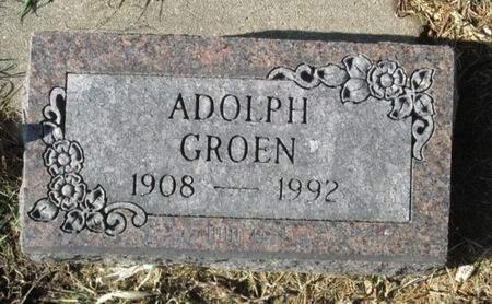 GROEN, ADOLPH - Franklin County, Iowa | ADOLPH GROEN