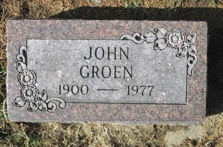GROEN, JOHN - Franklin County, Iowa | JOHN GROEN