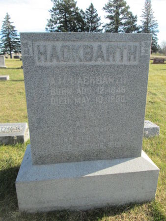 HACKBARTH, ELVINA E. - Franklin County, Iowa | ELVINA E. HACKBARTH