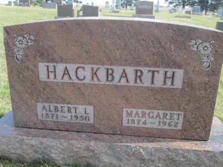 HACKBARTH, ALBERT L. - Franklin County, Iowa | ALBERT L. HACKBARTH
