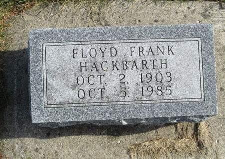 HACKBARTH, FLOYD FRANK - Franklin County, Iowa | FLOYD FRANK HACKBARTH