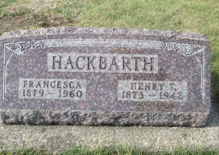 HACKBARTH, HENRY T. - Franklin County, Iowa | HENRY T. HACKBARTH
