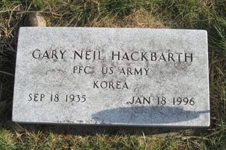 HACKBARTH, GARY NEIL - Franklin County, Iowa | GARY NEIL HACKBARTH
