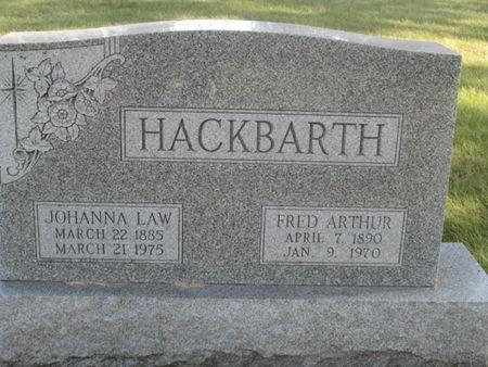 HACKBARTH, JOHANNA - Franklin County, Iowa | JOHANNA HACKBARTH