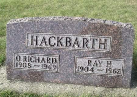HACKBARTH, O. RICHARD - Franklin County, Iowa | O. RICHARD HACKBARTH