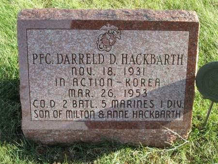 HACKBARTH, DARRELD D. - Franklin County, Iowa | DARRELD D. HACKBARTH