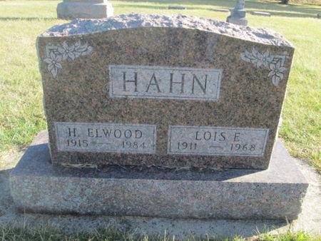 HAHN, LOIS E. - Franklin County, Iowa | LOIS E. HAHN