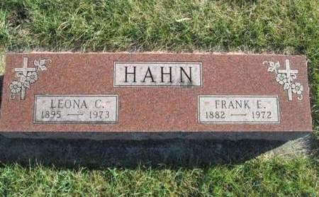 HAHN, FRANK E. - Franklin County, Iowa | FRANK E. HAHN