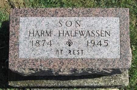 HALFWASSEN, HARM - Franklin County, Iowa | HARM HALFWASSEN