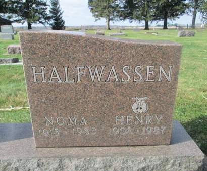 HALFWASSEN, NOMA - Franklin County, Iowa | NOMA HALFWASSEN