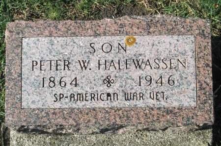 HALFWASSEN, PETER W. - Franklin County, Iowa | PETER W. HALFWASSEN