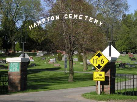 HAMPTON A.K.A. HILLSIDE, CEMETERY - Franklin County, Iowa | CEMETERY HAMPTON A.K.A. HILLSIDE