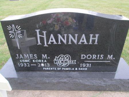 HANNAH, JAMES M. - Franklin County, Iowa | JAMES M. HANNAH