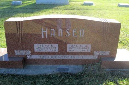 HANSEN, JACOB A. - Franklin County, Iowa | JACOB A. HANSEN