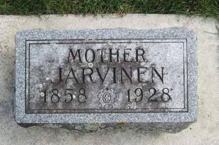 HANSEN, JARVINEN - Franklin County, Iowa | JARVINEN HANSEN