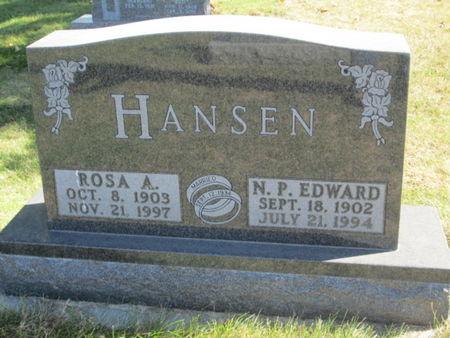 HANSEN, ROSA A. - Franklin County, Iowa | ROSA A. HANSEN